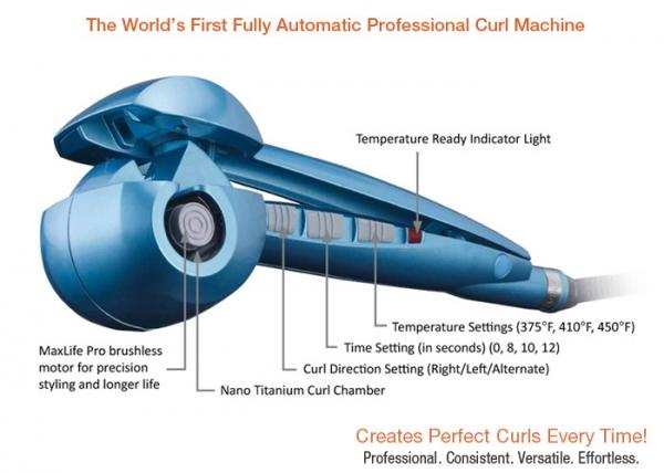 a13fc13ef Modelador de Cachos MiraCurl Nano Titanium - BABNTMC1BR - Babyliss PRO