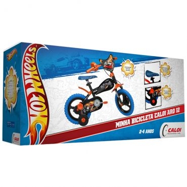80429f8ab Bicicleta Hot Wheels Aro 12 - Caloi