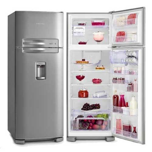 Refrigerador geladeira electrolux cycle defrost 2 portas for Geladeira 2 portas inox